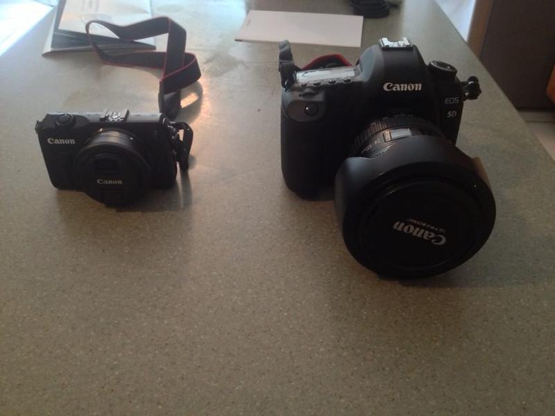 Canon EOS M vs. Canon EOS 5D Mark II