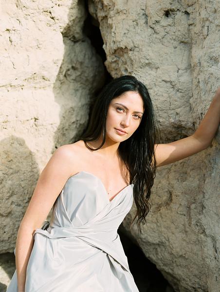 Carol Hannah Bridal Gown -- a modern sweetheart ballgown -- Las Vegas Desert Sunrise Elopement // Janna Brown Design // Kristen Krehbiel - Kristen Kay Photography