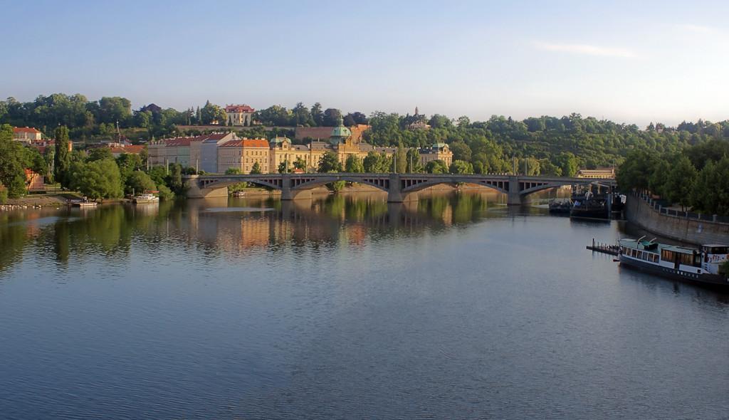 Serenity on the Vltava River