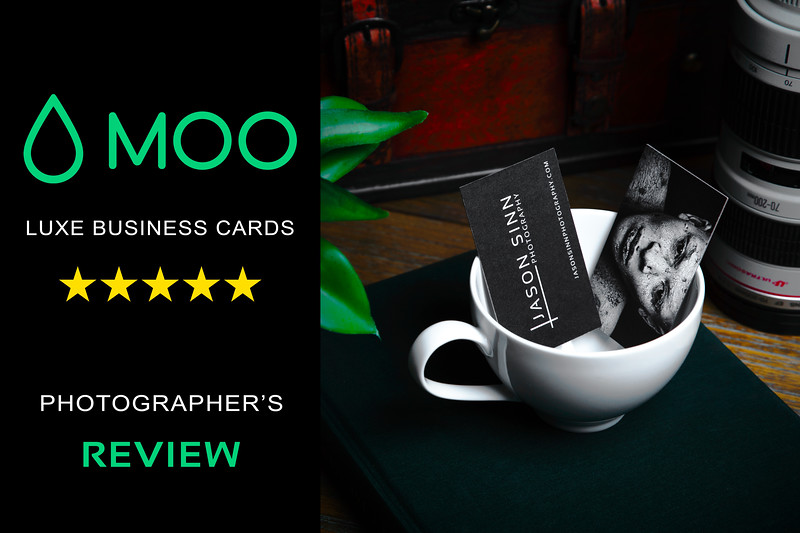MOO Luxe Business Cards - A Photographer's Review
