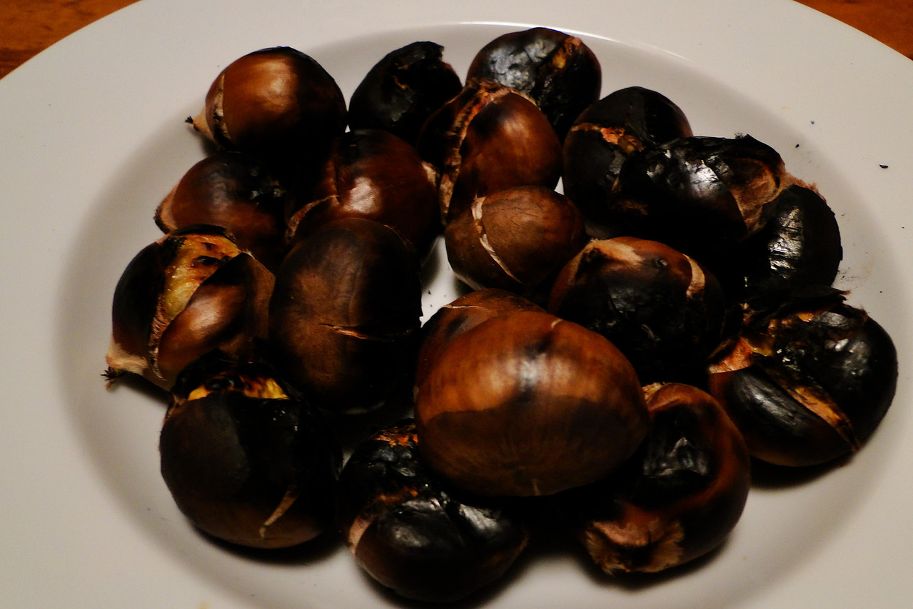 Roasted Chestnuts!