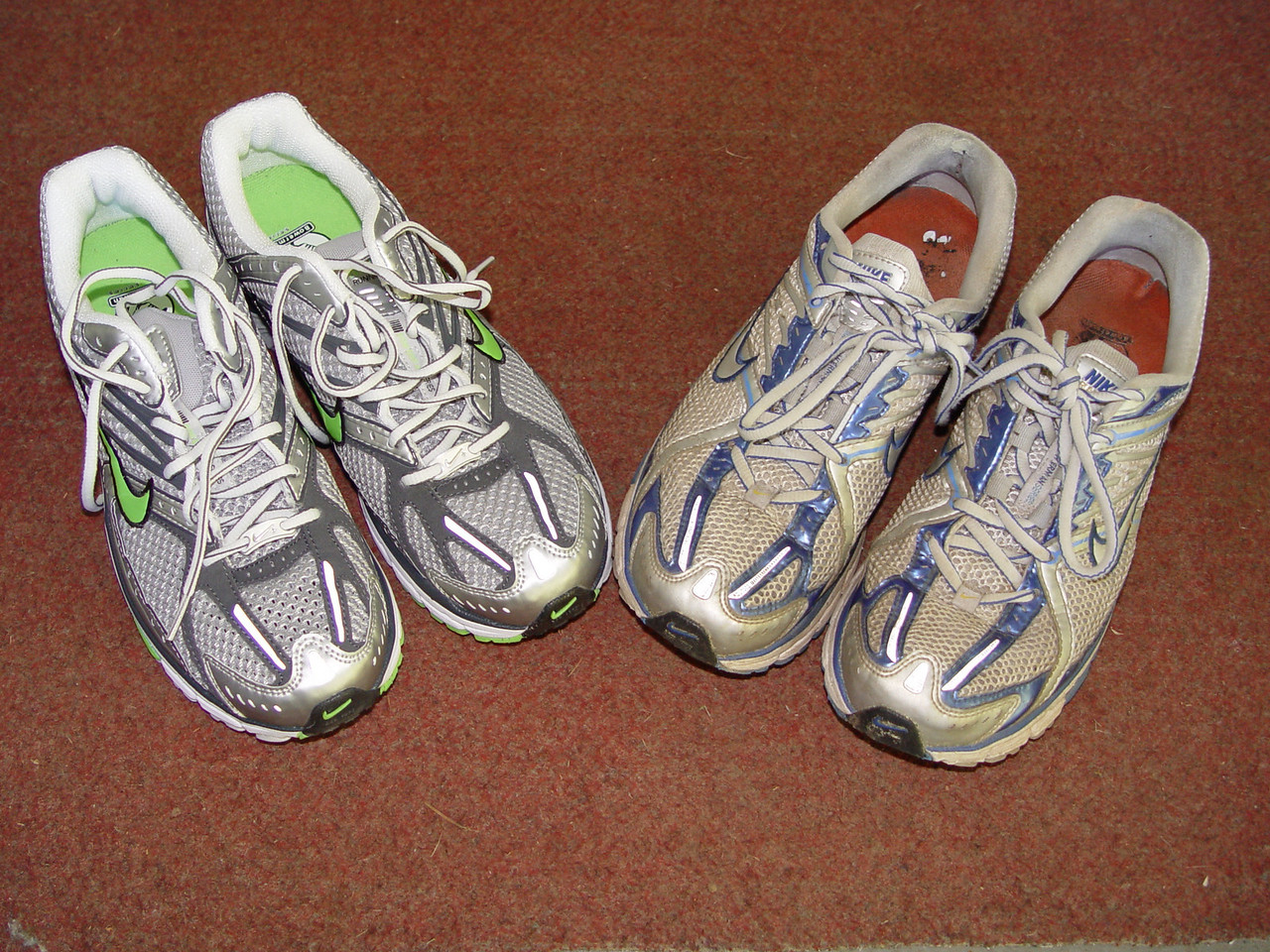 After 850 miles its time for some new running shoes.