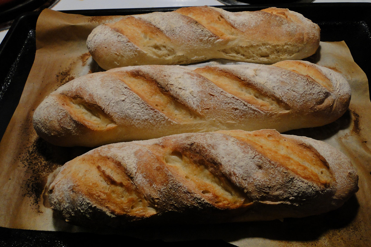 Chiyoko's homemade French Bread..