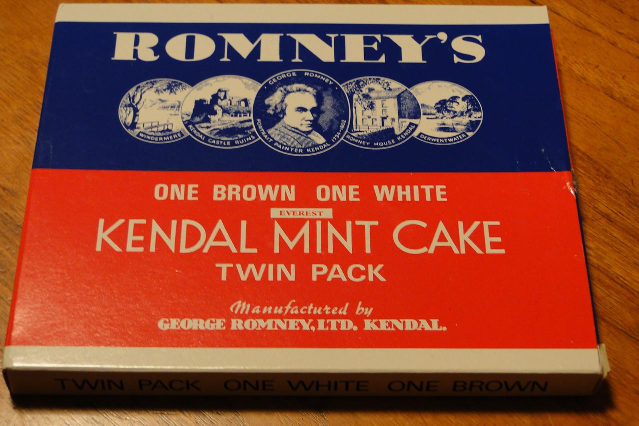 Kendal Mint Cake 2012 Hiking Supplies!