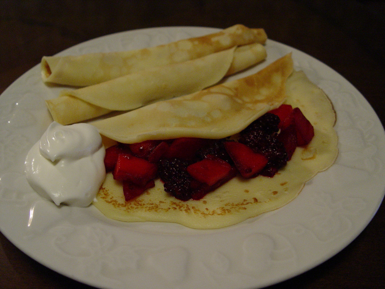 Pancakes chez Meacham tonight...... Happy Shrove Tuesday Everyone [Wiki: Shrove Tuesday]