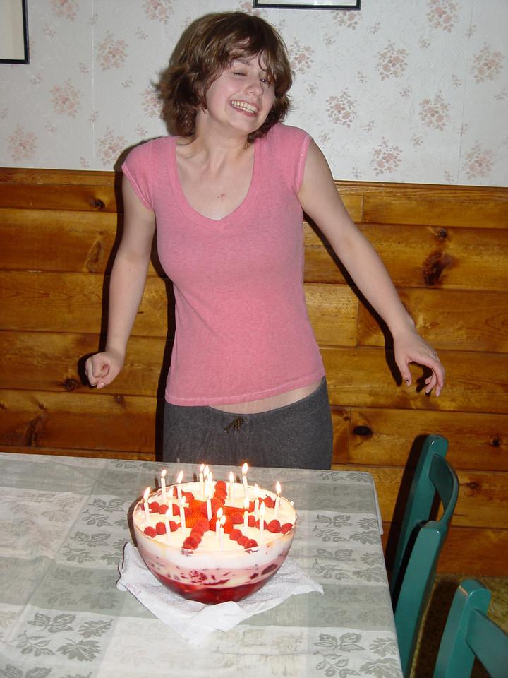 Anwen's Birthday Trifle.