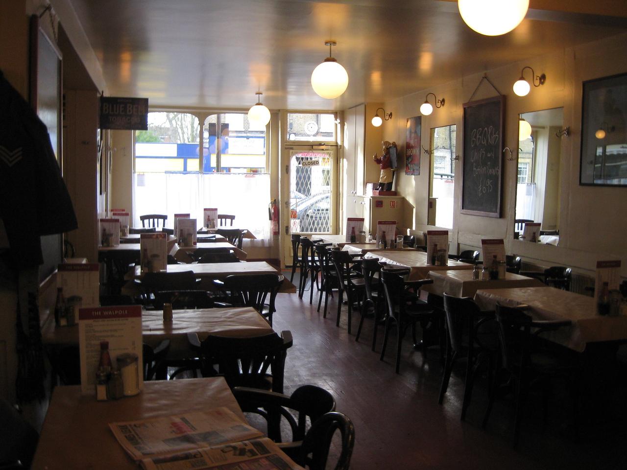 The Walpole Restaurant - Inside