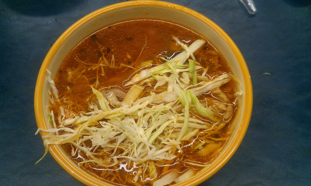 The Ladies made Pozole at work today 11/22/11