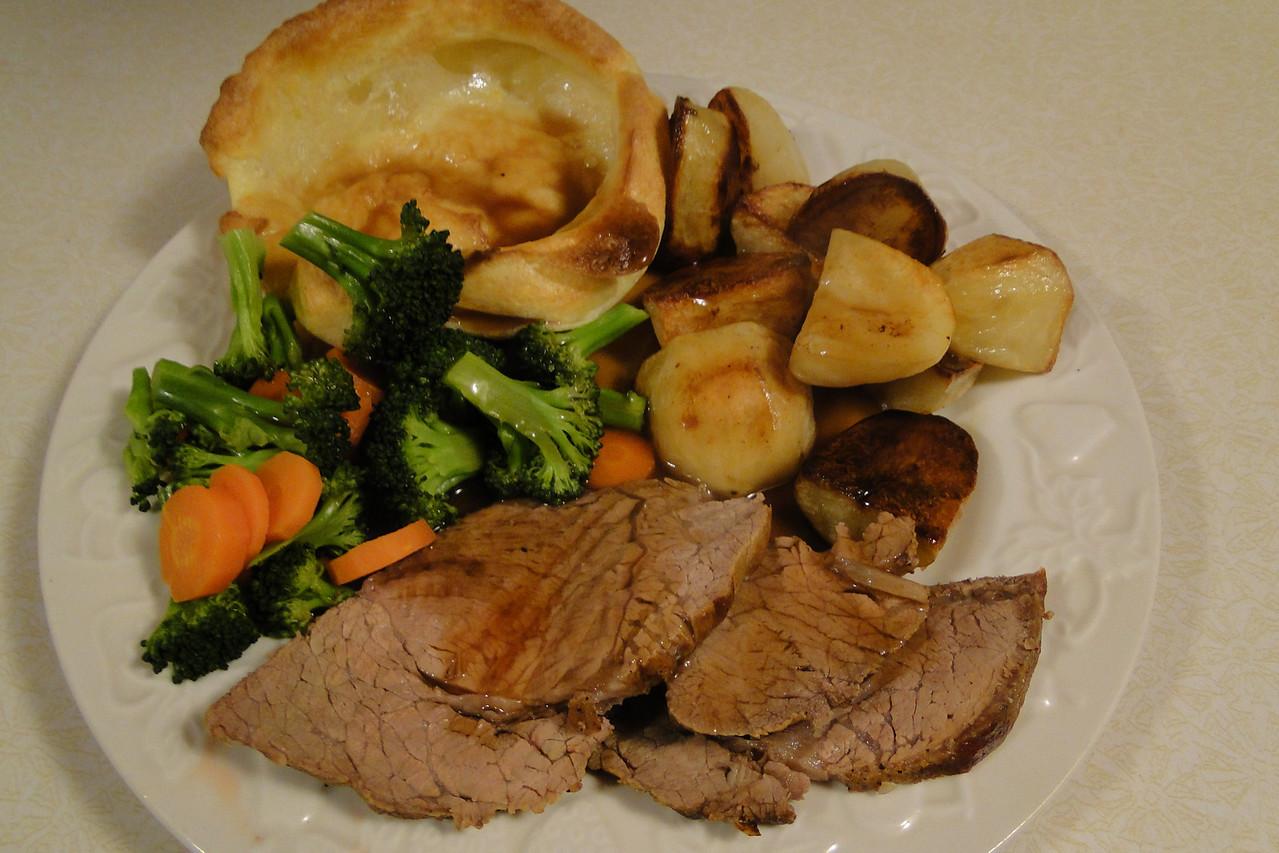 Nothing like a good Sunday Roast!