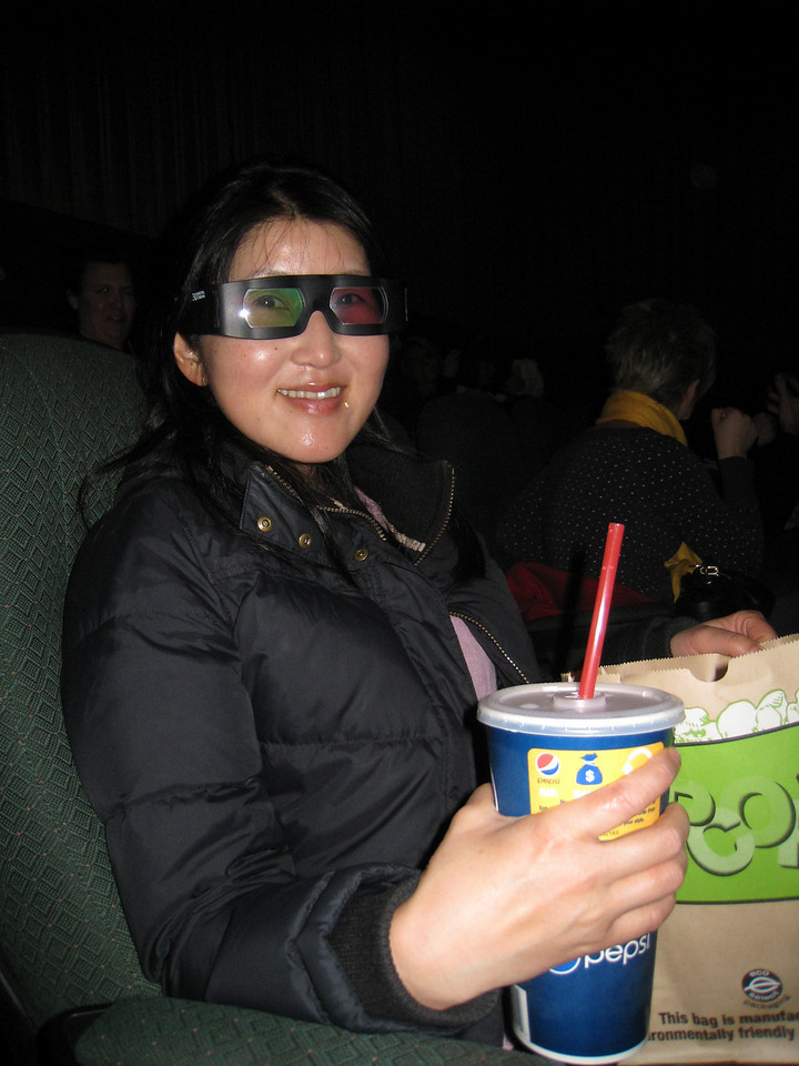 Chiyoko ready for Avitar 3D