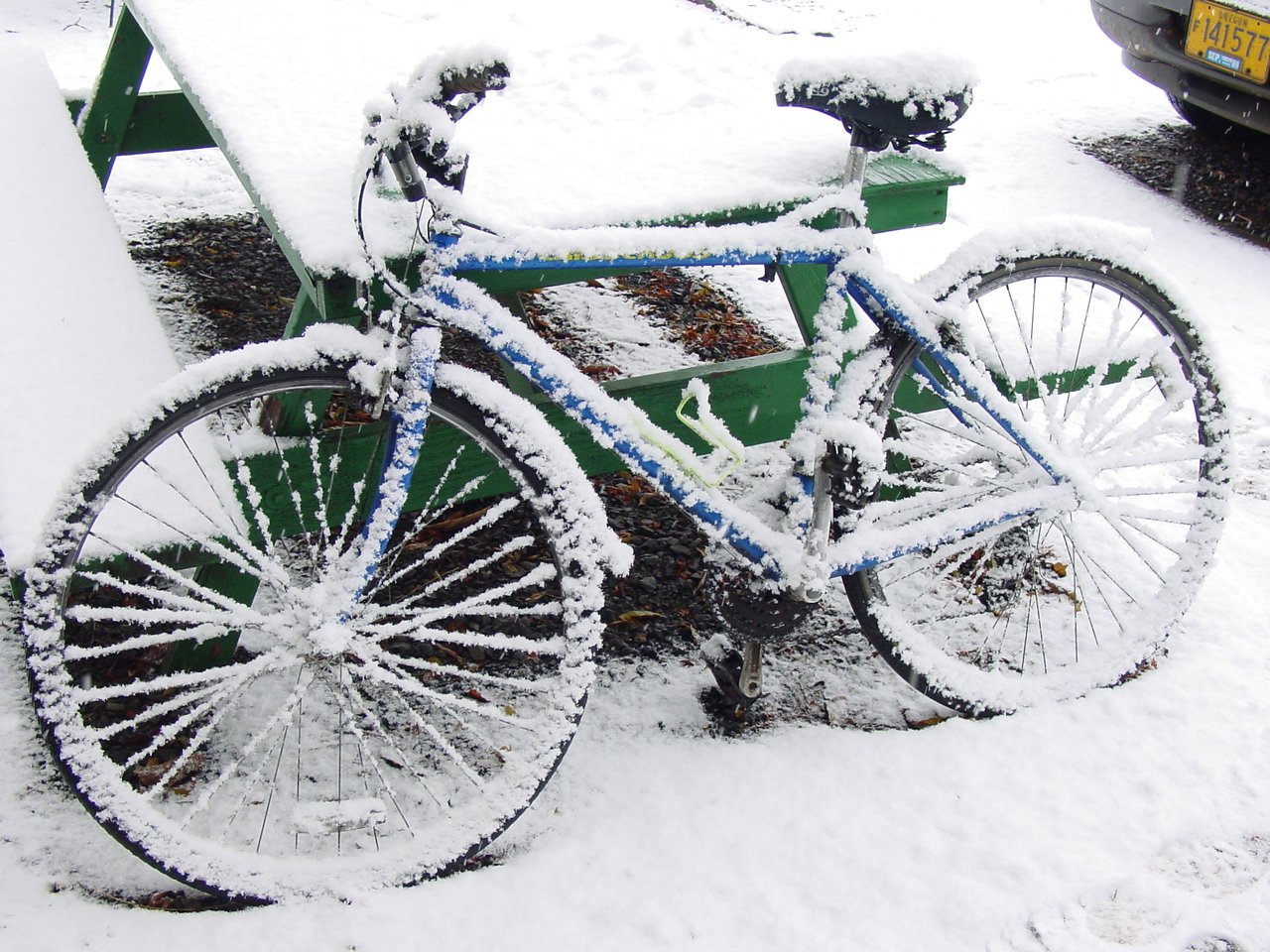 [12/18/08] - It's going to be a cold ride home from work today..