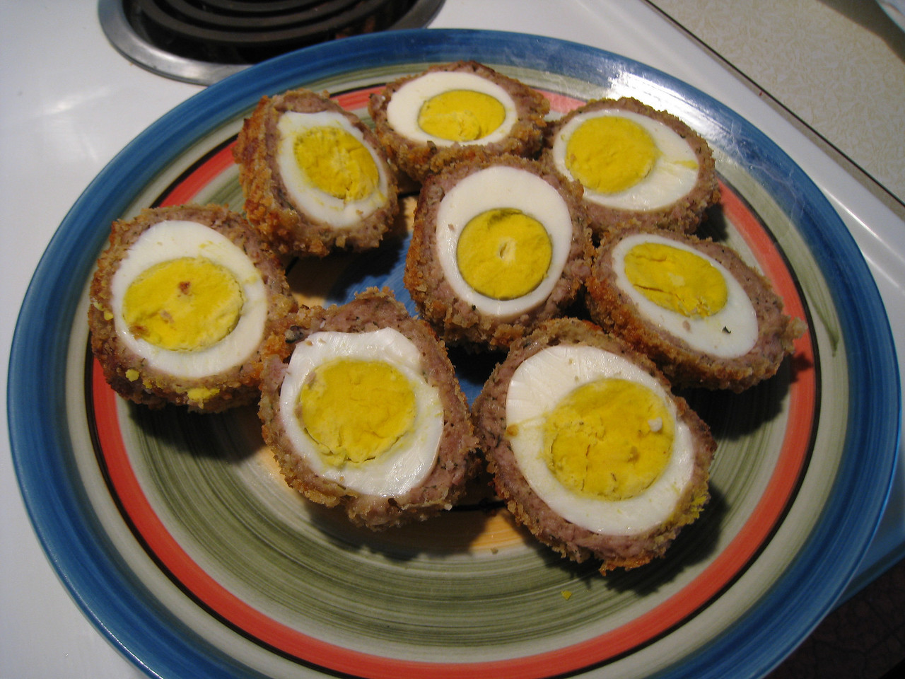 Chiyoko's Home Made Scotch Eggs