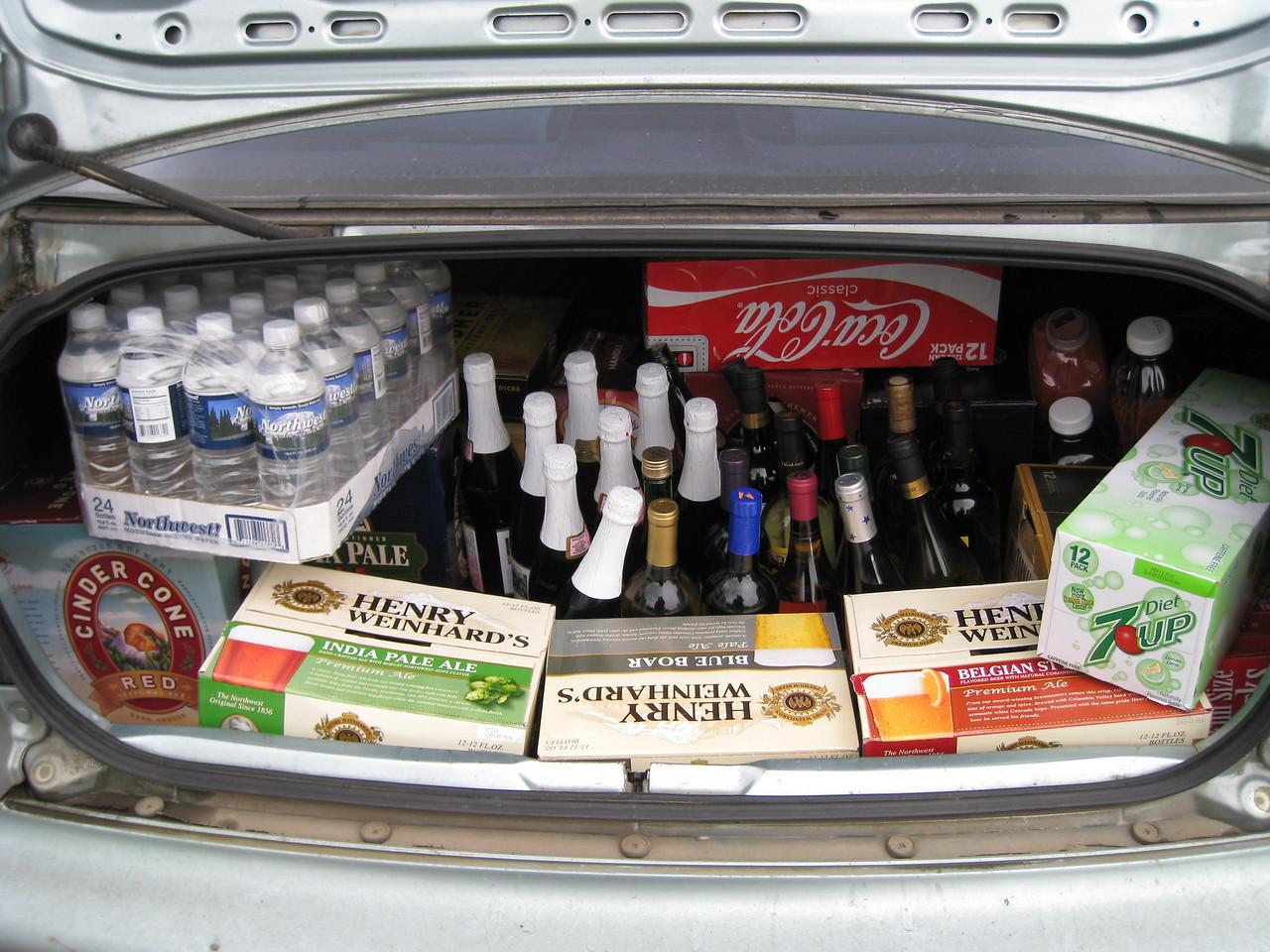 Wedding Reception Booze!!! April 19th 2008