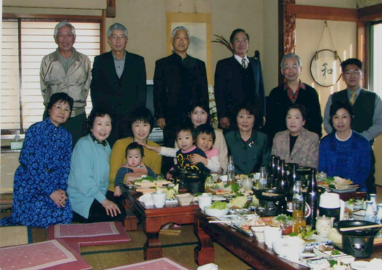 This photo was taken at Chiyoko's Family Reunion in January 2007.