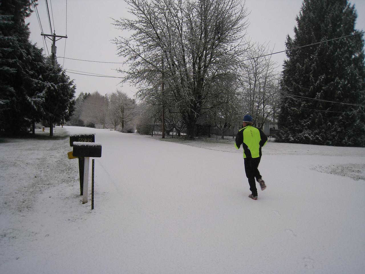 Sunday morning run..
