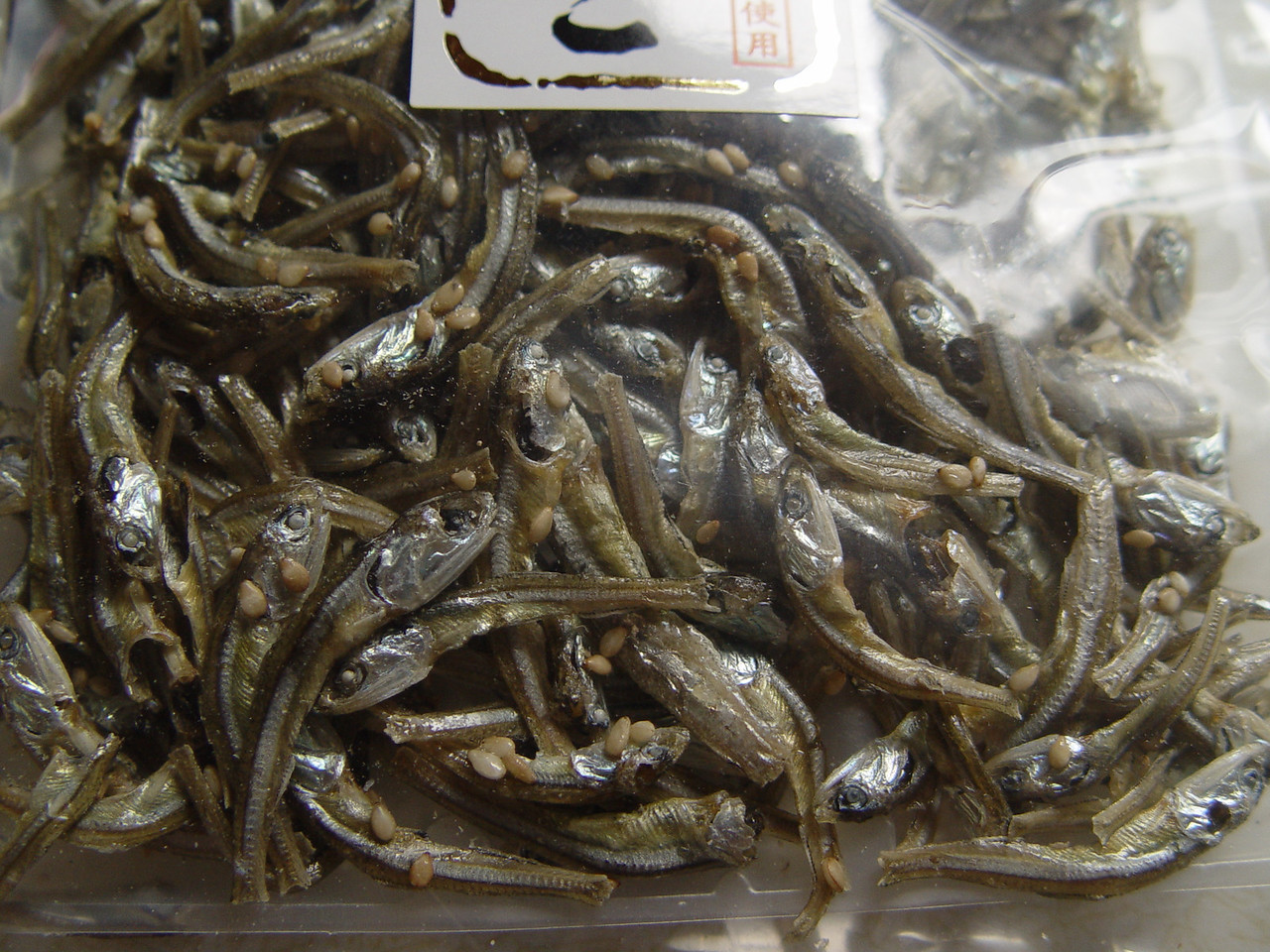 Japanese snacks Dried Japanese Pilchards