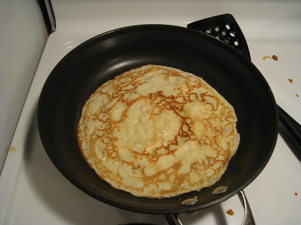So for the frst time I tried my hand at making pancakes for Shrove Tuesday.