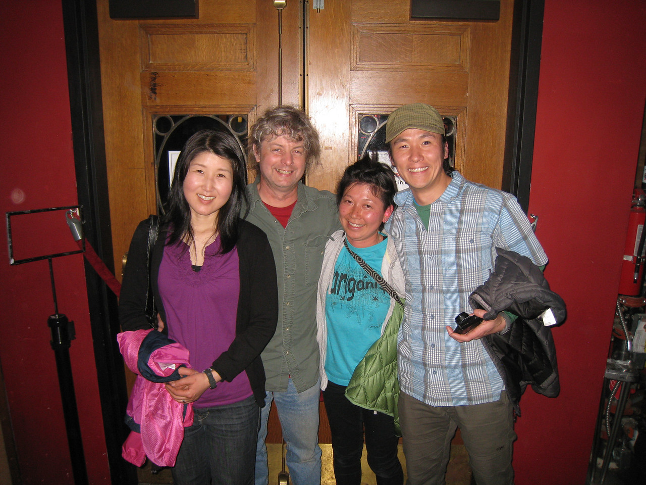 Saturday we heading into Portland with Mikio to meet up with our friend Haruka was was the translator for the Band Toquiwa. It was the final night of the near month long tour. Haruka's sister Mizuki is the drummer.