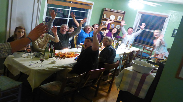 Another great Thanksgiving day meal with great friends & Family hosted by Phil & Suzy.