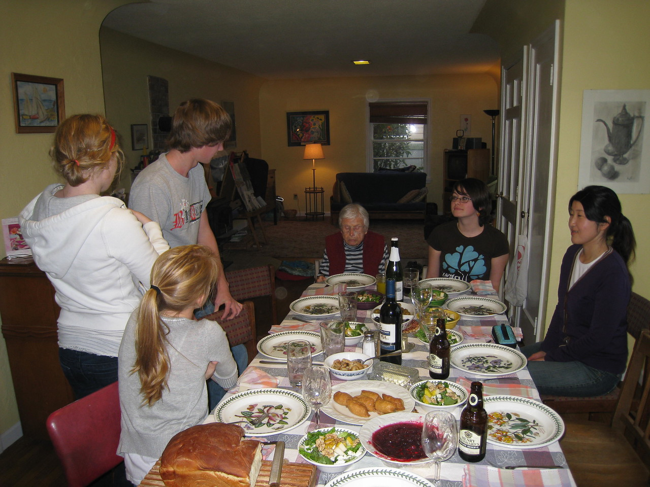 This year we had another great Thanksgiving meal with the Phil, Susie, Jean, Carrie, Nick & Amy. Martin & Jenifer joined us later in the afternoon.