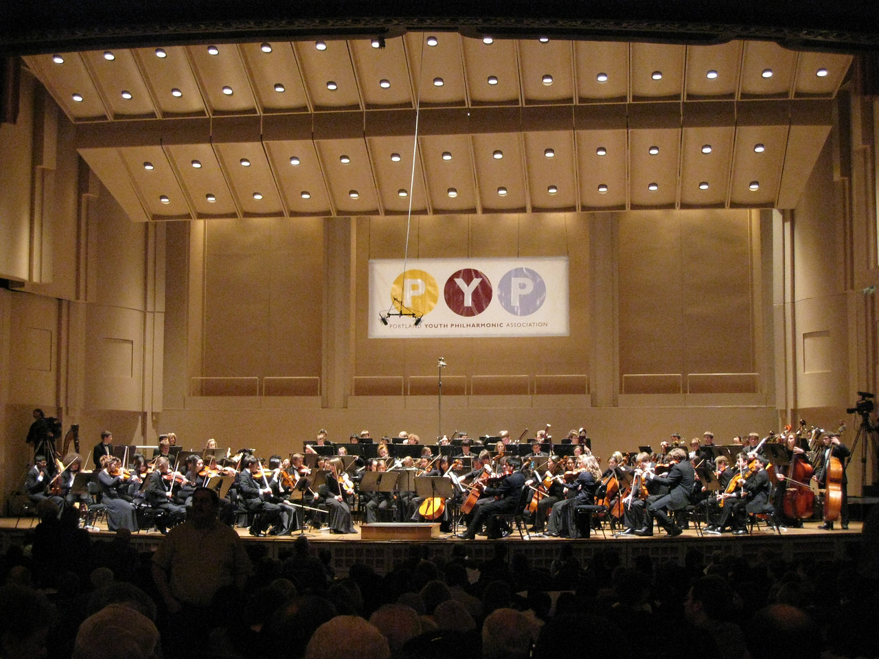 Saturday March 1st we went to see Carrie & Nick Turrell play in the Portland Youth Philharmonic Orchestra Winter Concert. The main performance was Gustav Mahler's 5th Symphony.