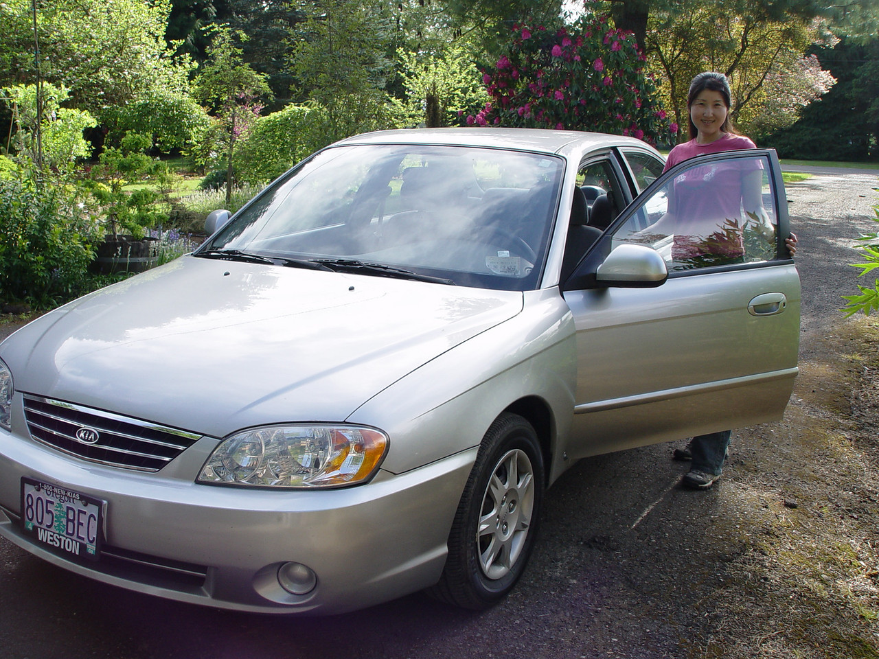 Chiyoko gets ready to take on the American Road...