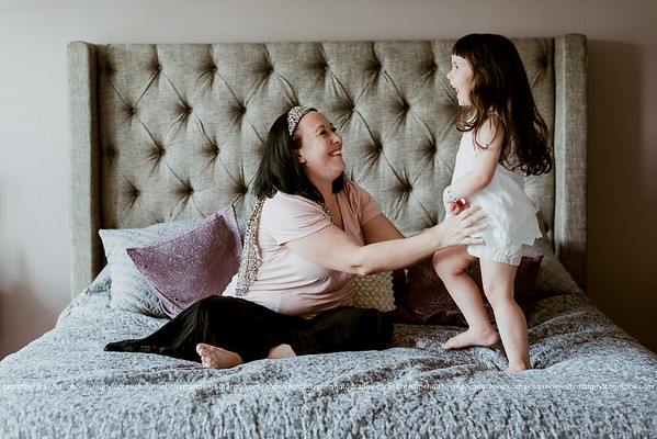 Mother and daughter lifestyle session