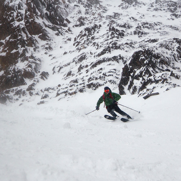 Skiing the Pinner