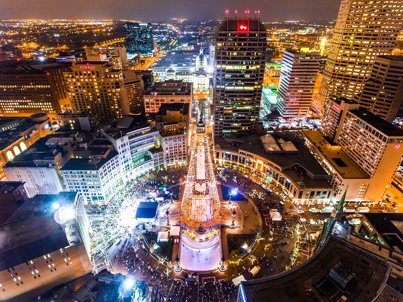 Indianapolis Circle of Lights