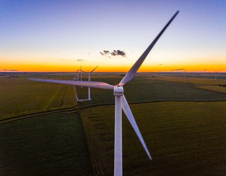 Windmills on I-65
