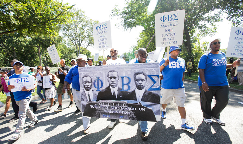 Dushun Scarborough/50th Anniversary March on Washington
