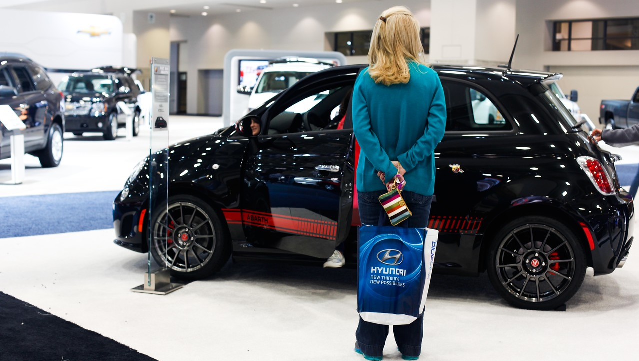 Washington, DC Auto Show, Friday, January 27, 2012. Photos by Leah L. Jones