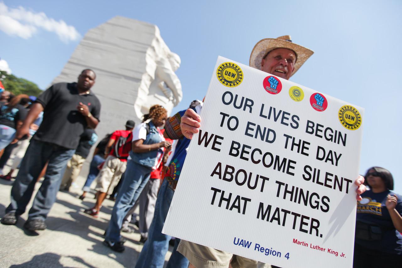 Dushun Scarborough/50th Anniversary March on Washington