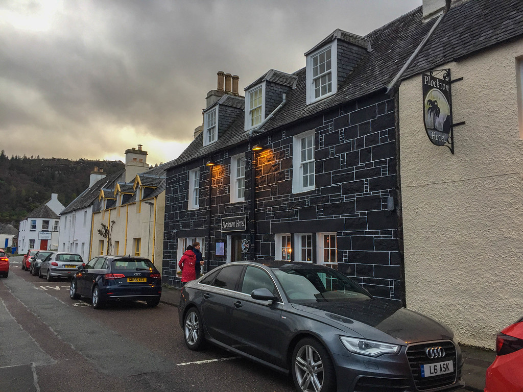 The Plockton hotel is a perfect place to base yourself.