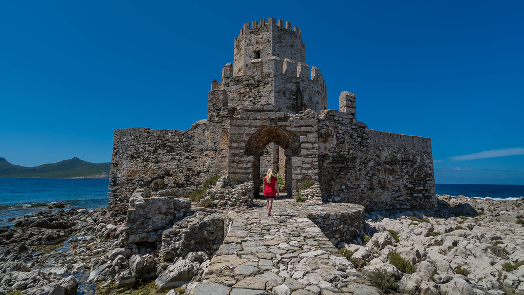 Stunning views are everywhere at Methoni Castle