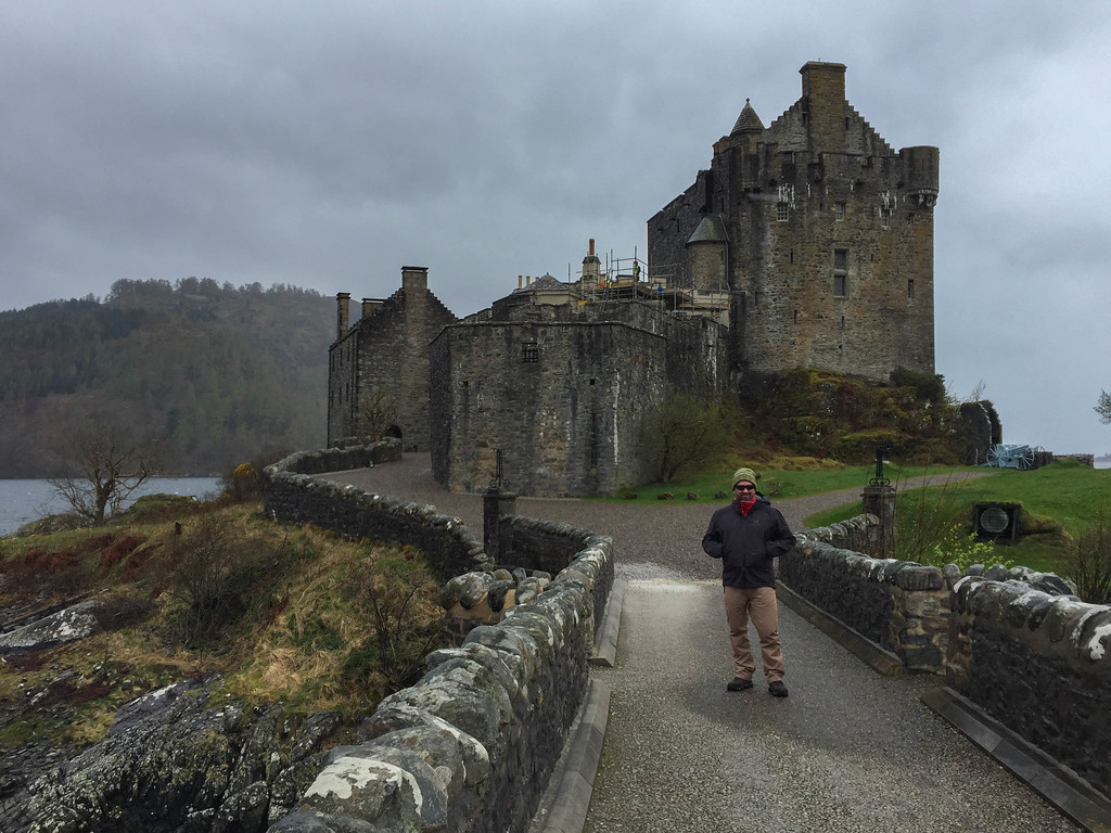 Eilean Donan Castle is even stunning in the rain.