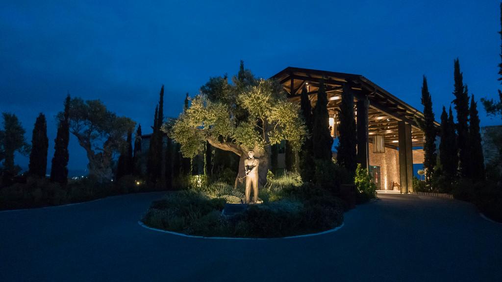 Flame Restaurant right at The Westin Resort, Costa Navarino