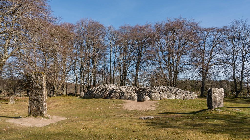 Clava Cairns just outside of Inverness, Scotland
