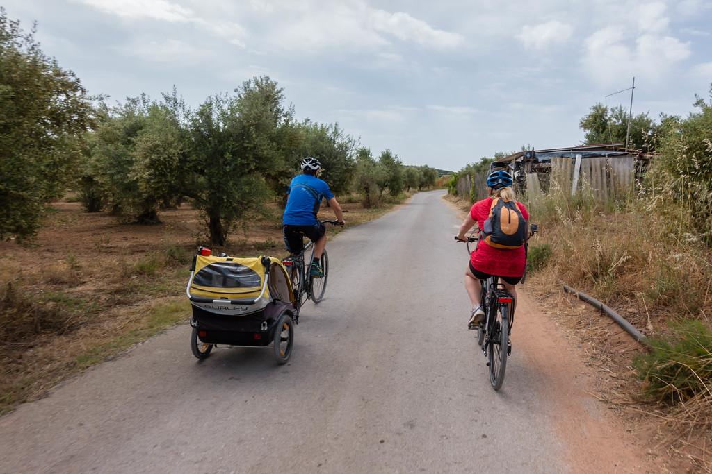 cycling in Costa Navarino