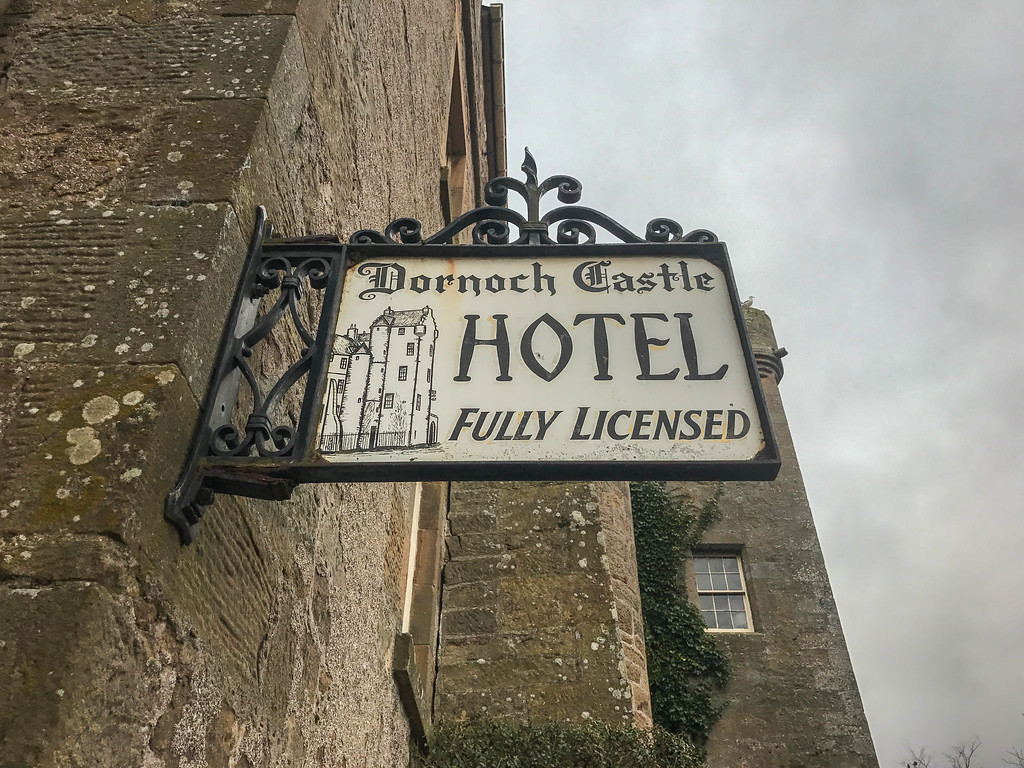 Visit Dornoch Castle on the North Coast 500