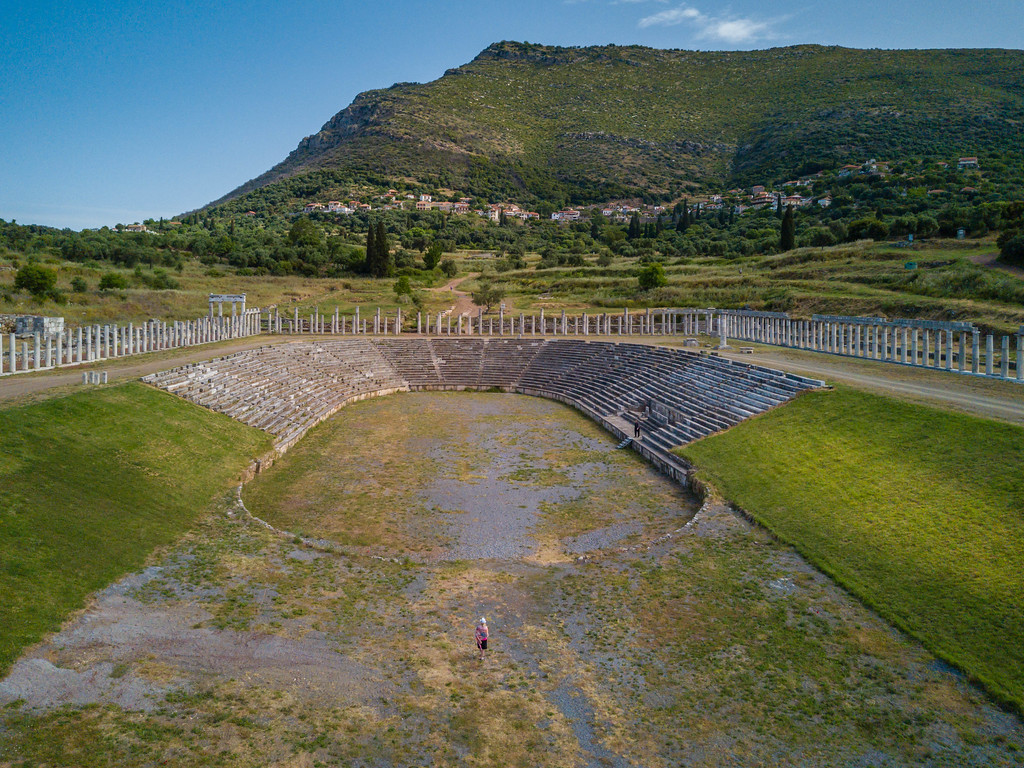 The Ancient city of Messene, Greece