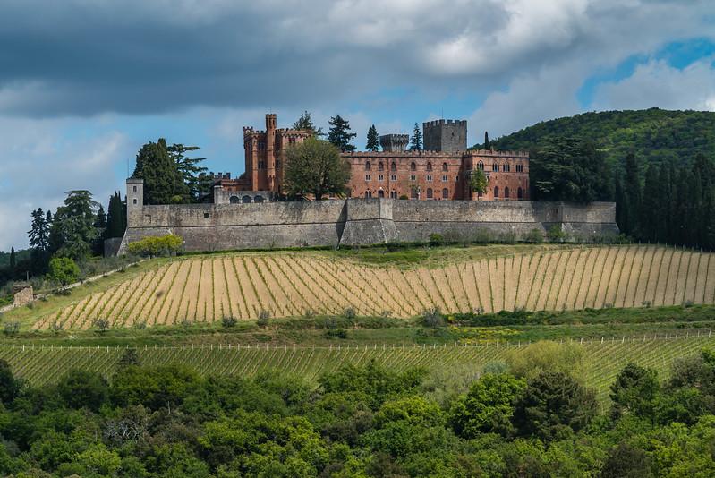 Tuscany Brolio Castle