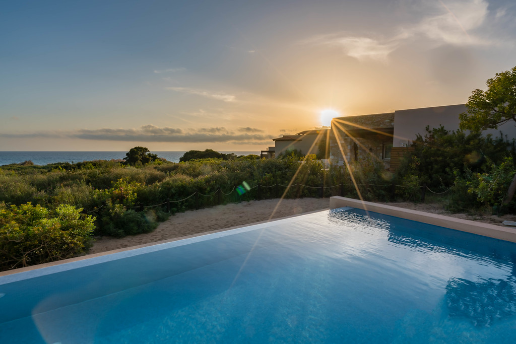 Costa Navarino infinity pool suites