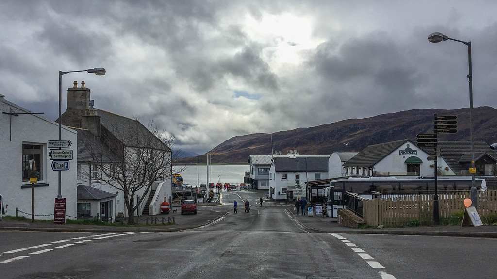 We fell in love with the little town of Ullapool.
