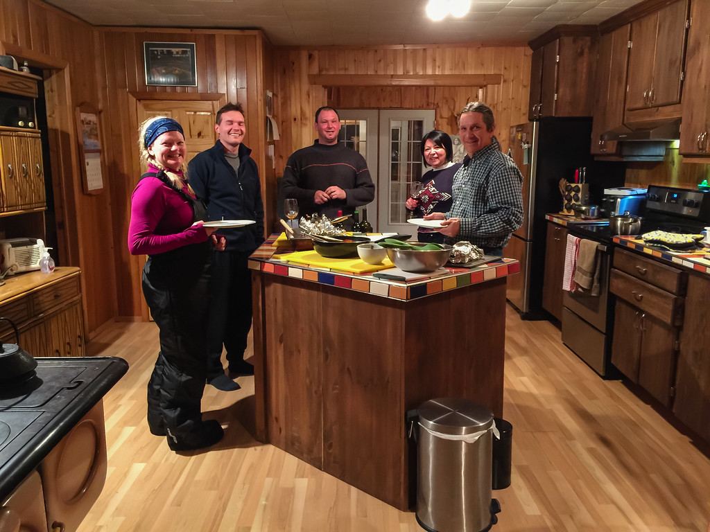 It was a meal to remember at Whitefeather Lodge