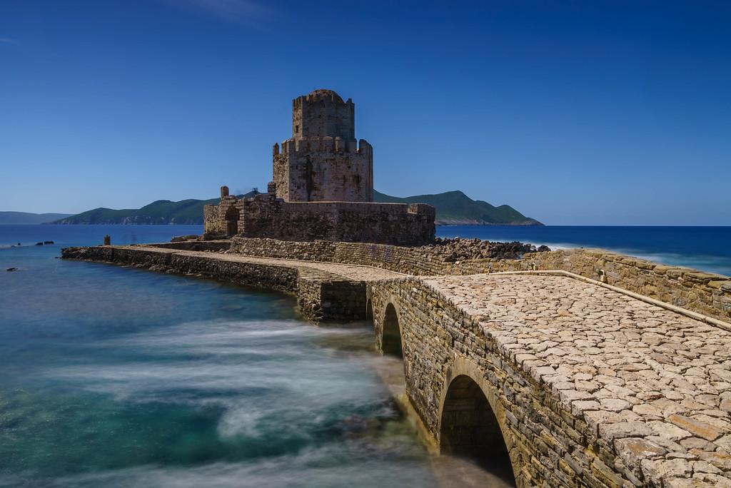 Methoni Castle just outside Costa Navarino