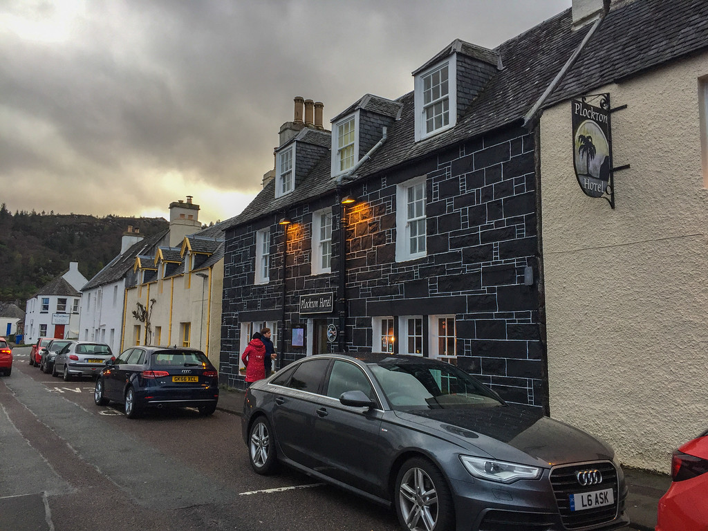 Plockton Hotel where to stay on North Coast 500