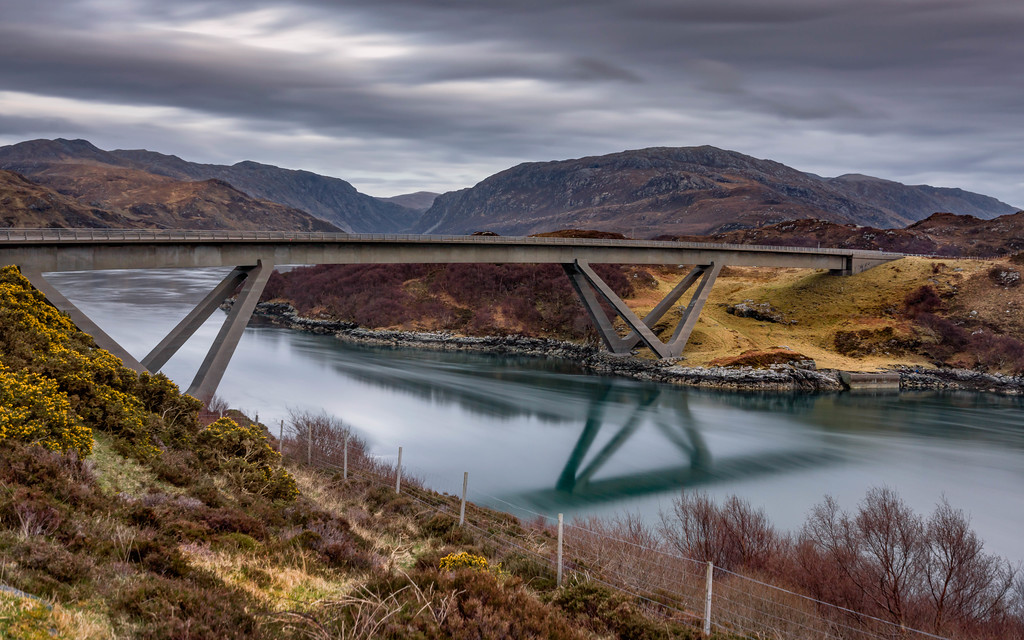 North Coast 500 Guide: Visit the Kylesku Bridge