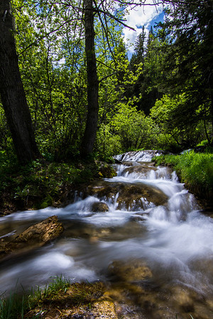 Small Waterfall at Big Hill Springs