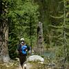 Amanda Walking to Grizzly Lake